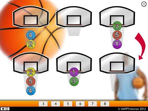 Basketball in New York - HAPPYneuron brain training game