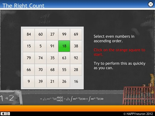 Screenshot: The Right Count