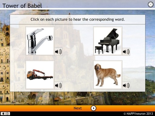 Screenshot: Tower of Babel